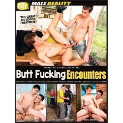 Butt Fucking Encounters #1 DVD (Male Reality)