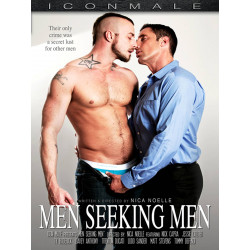 Men Seeking Men DVD (Icon Male) (19125D)