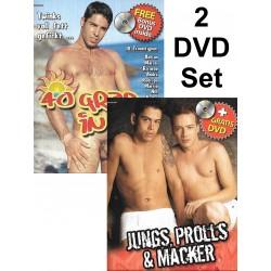 40 Grad in Rio & Jungs, Prolls Und Macker 4-DVD-Set (Foerster Media)