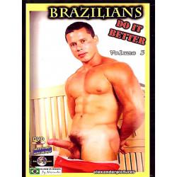 Brazilians Do It Better #5 DVD (Alexander Pictures) (18822D)