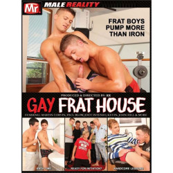 Gay Frat House #1 DVD (Male Reality) (18987D)