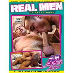 Real Men Of Retro Porn DVD (Manville Classics) (19407D)
