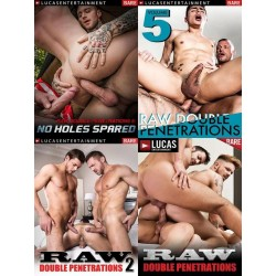 Raw Double Penetrations 4-DVD-Set (LucasEntertainment) (19333D)