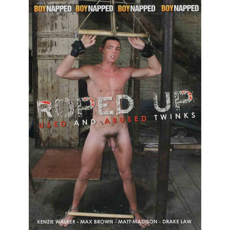 Roped Up DVD (Boynapped) (19424D)