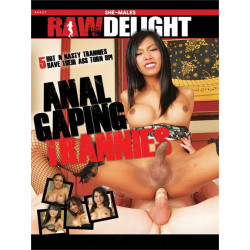Anal Gaping Trannies DVD (Raw Delight) (19565D)