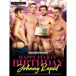 Happy Fuckin` Birthday Johnny Rapid DVD (Naked Sword)