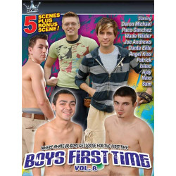 Boys First Time #8 DVD (Reality Kings) (19568D)