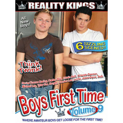 Boys First Time #9 DVD (Reality Kings) (19569D)