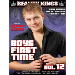 Boys First Time #12 DVD (Reality Kings) (19572D)