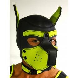 RudeRider Neoprene Puppy Hoods Yellow (T7272)
