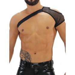 TOF Mesh Shoulder Harness Black (T7937)