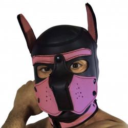 RudeRider Neoprene Puppy Hoods Pink (T7278)