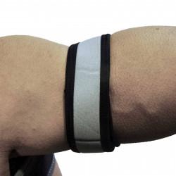 RudeRider Neoprene Puppy 2 Biceps Straps Grey (T7260)
