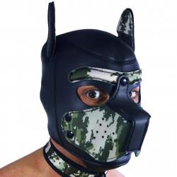 RudeRider Neoprene Puppy Hoods Camo (T7277)