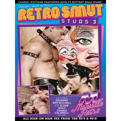 Retro Smut Studs #3 DVD (Manville Classics) (20258D)