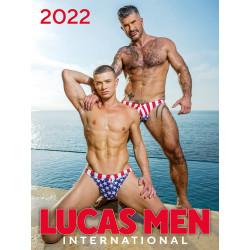 Lucas Men International 2022 Calendar (M1029)