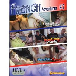 French Adventures #2 3-DVD-Set (Crunch Boy) (19522D)