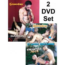 Crunch Boy Bareback #4 2-DVD-Set (Crunch Boy) (20434D)