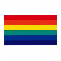 Rainbow Pride Aufkleber / Sticker 76 x 115 mm (T7765)