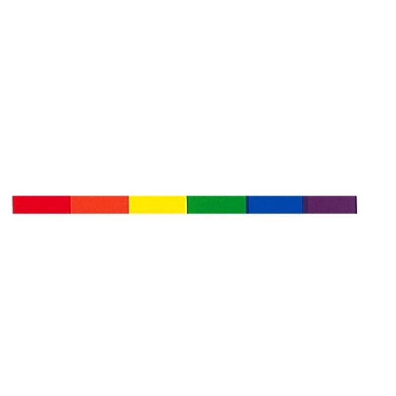 Rainbow Pride Aufkleber / Sticker 15 x 400 mm (T7769)
