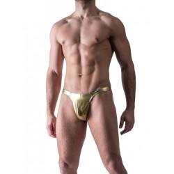 Manstore Tower String M420 Underwear Thong Gold (T3779)