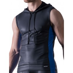 Manstore Hoody Tank Top M521 Black/Blue (T3866)