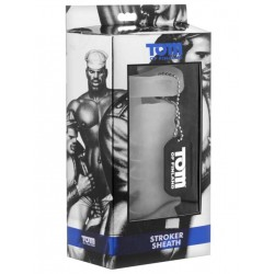 Tom of Finland Stroker Sheath Clear (T4280)