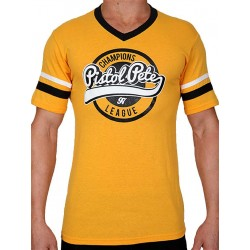 Pistol Pete Champions Short Sleeve Tee T-Shirt Yellow