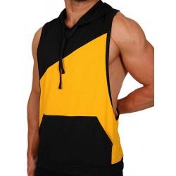 Pistol Pete Flex Hoody T-Shirt Yellow/Black