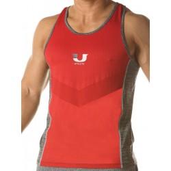 Junk Underjeans UJ Curl Tank Top Red