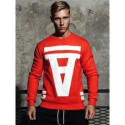 Supawear Crimson Sweater Red