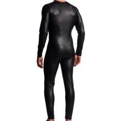 Manstore Allover Suit w. Zipper M510 Black (T4856)