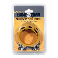 Bone Yard Silicone Ball Stretcher Yellow Glow (T4933)