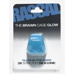 The Brawn Cage Glow Blue (Rascal Toys)