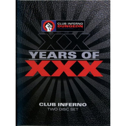XXX Years - Club Inferno 20th Anniversary Collection 2-DVD-Set (Club Inferno (by HotHouse)) (10634D)