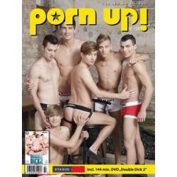 PornUp 128 Magazine + Double Dick #2 (Staxus) DVD