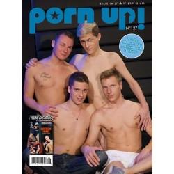 PornUp 127 Magazine + Darkroom Twinks (Young Bastards) DVD