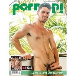 PornUp 131 Magazine + Ass Blasters DVD