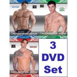 Straight Edge 1-3 SuperPack 3-DVD-Set (11379D)