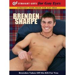 Brenden Sharpe DVD (Straight Guys for Gay Eyes) (12079D)