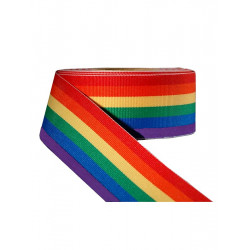 Rainbow Stripe Ribbon 5/8inch / 16mm wide 100m (T1537)