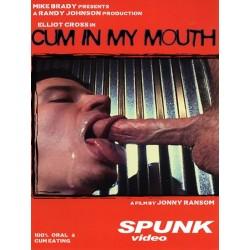 Cum in My Mouth 1: Elliot Cross DVD