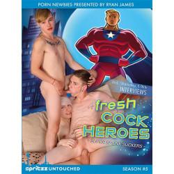 Fresh Cock Heroes DVD  (14399D)