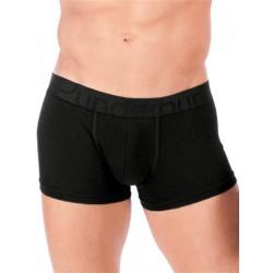 Rounderbum Padded Boxer Trunk Underwear Black