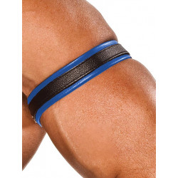 Colt Leather Bicep Strap - Blue