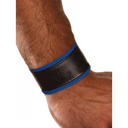 Colt Leather Wrist Strap - Blue