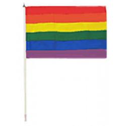 Regenbogenflagge / Rainbow Flag 30 x 45 cm