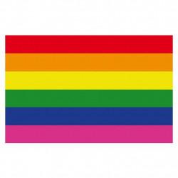 Rainbow Magnet flexible 4,5 x 7 cm