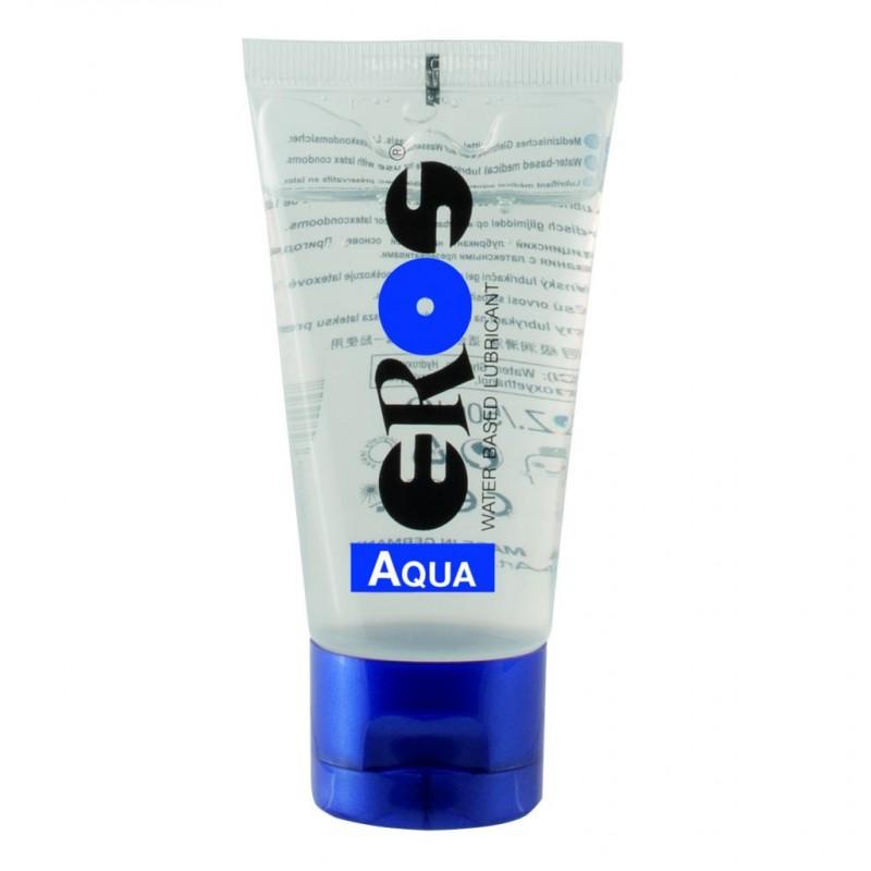 Eros Aqua 50 ml / 1.7 fl.oz. Tube Water-based Lubricant (ER33050)