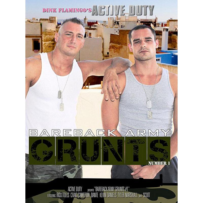 Bareback Army Grunts #1 DVD (15140D)